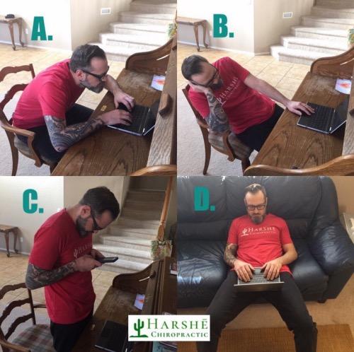 body imbalance, poor posture, Maricopa, chiropractor, Brandon Harshe